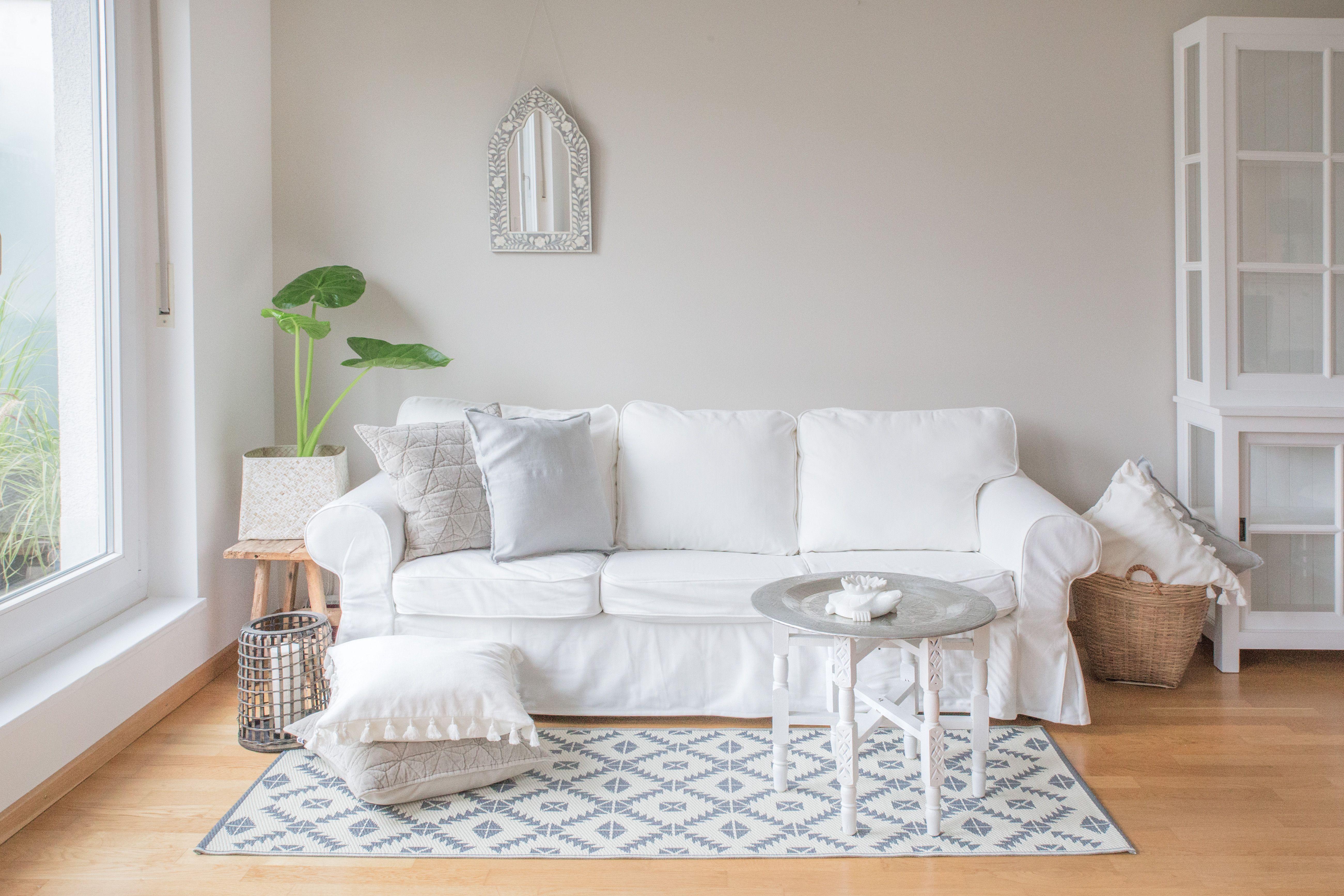Accessoires Wohnzimmer | Helle Grundstimmung Fur Mein Wohnzimmer Dann Kann Ich Mit