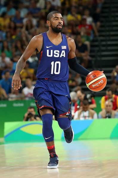 858bbe079b83  RIO2016 Best of Day 1 - Kyrie Irving of United States controls the ball  during the game against China on Day 1 of the Rio 2016 Olympic Games at  Carioca ...