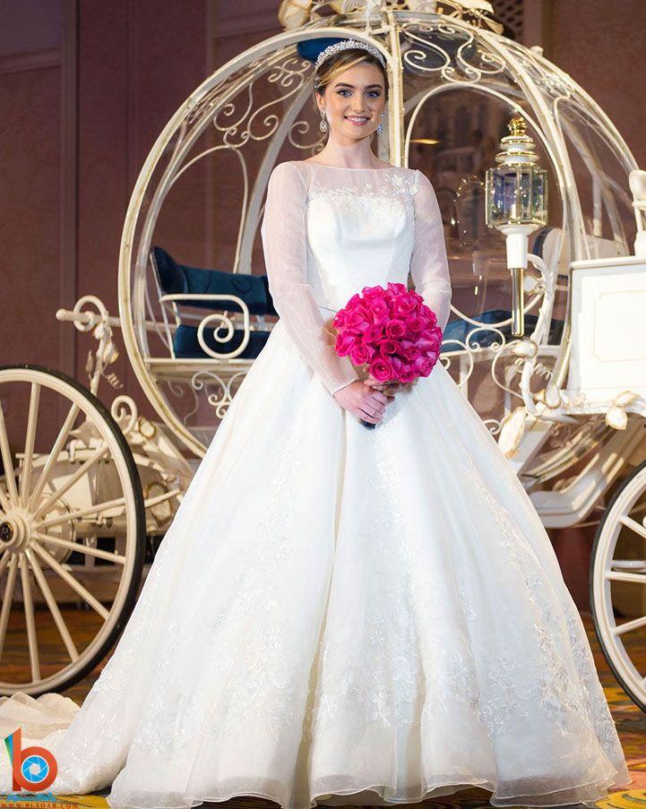 اجمل فساتين زفاف حديثة