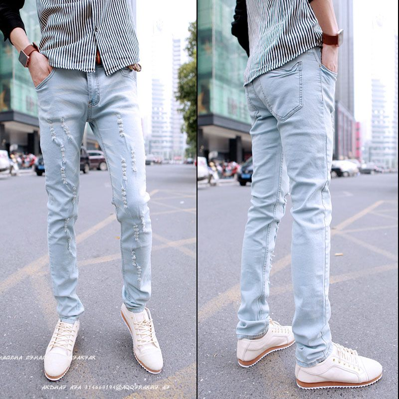 light blue jeans men - Google Search | Fashion | Pinterest | Capri ...