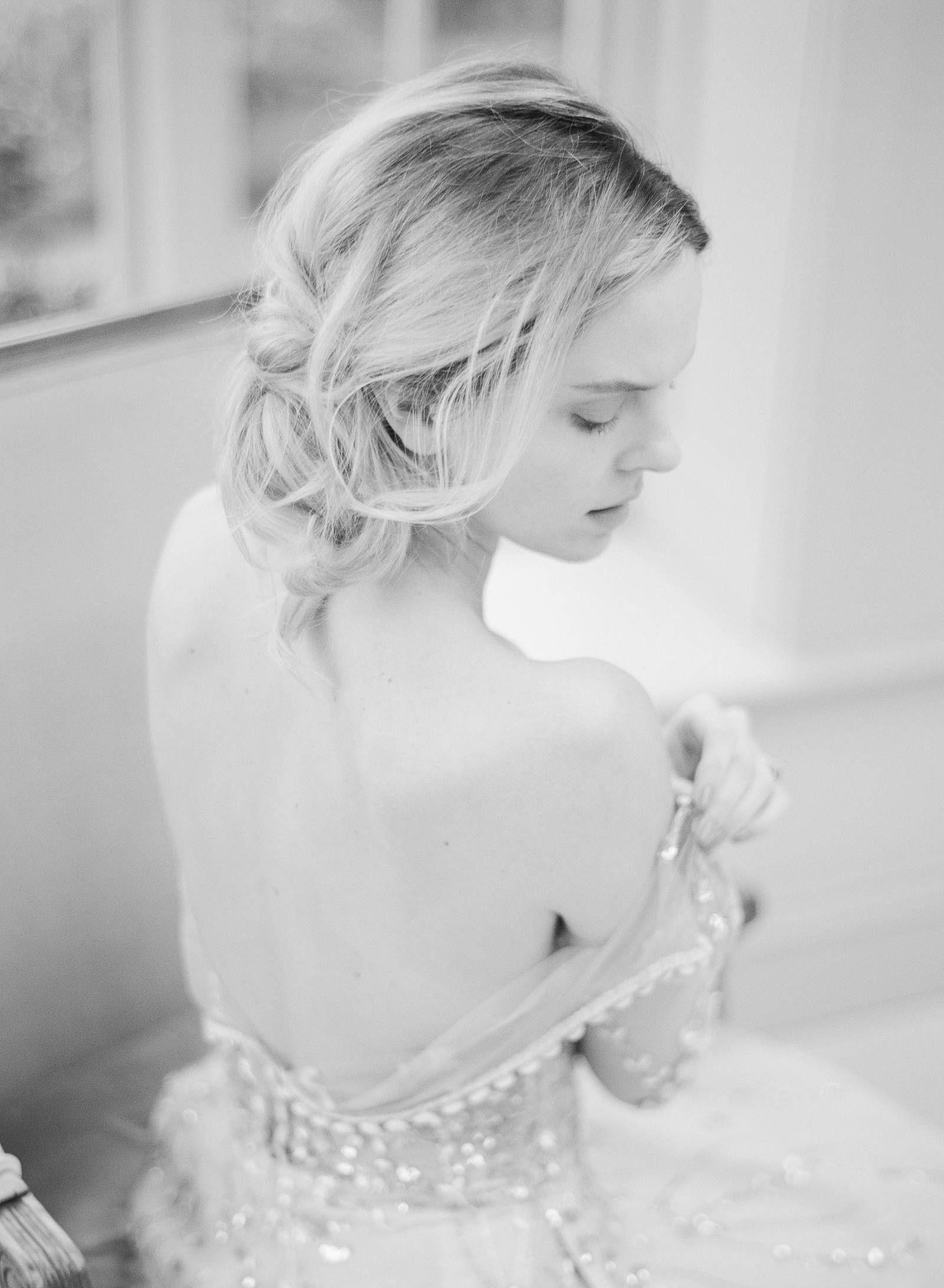 Lee Grebenau Giselle gown feature Refined feminine Wedding ...