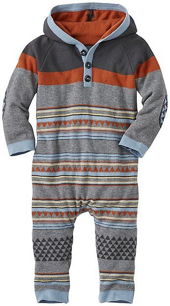 Fabulous new Fair Isle hoodie all-in-one is our very softest ...