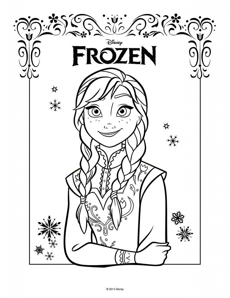 Disegni Da Colorare E Stampare Di Frozen Gratis Disegni Da