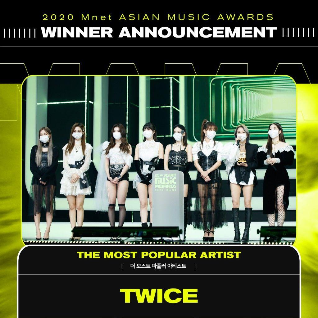 Pin By Kpopgirls Fanboy On Wins Music Awards Most Popular Artists Winner Announcement
