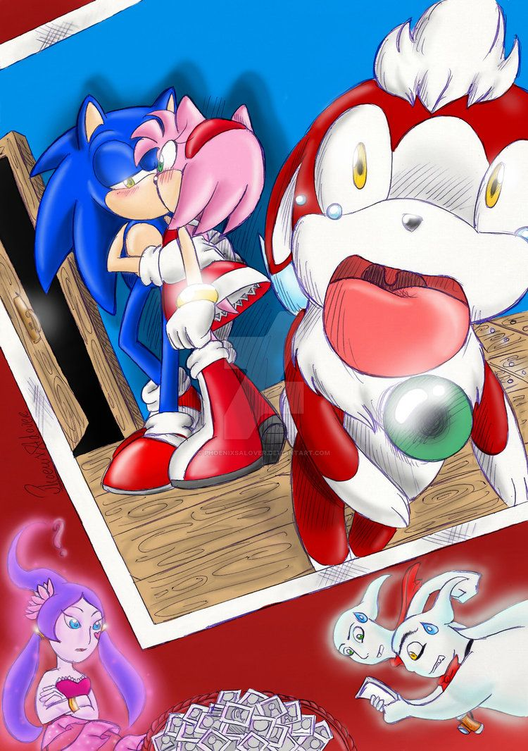 Sonic One Of Scenes That They Take Photos And One Of Them Sonic