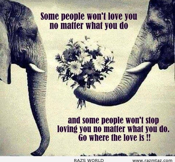 SOME PEOPLE WON'T LOVE YOU ... - http://www.razmtaz.com/people-wont-love-2/