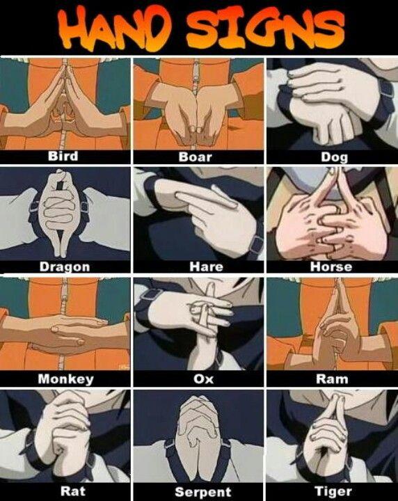 Anime Best Images: Itachi Jutsu Hand Signs