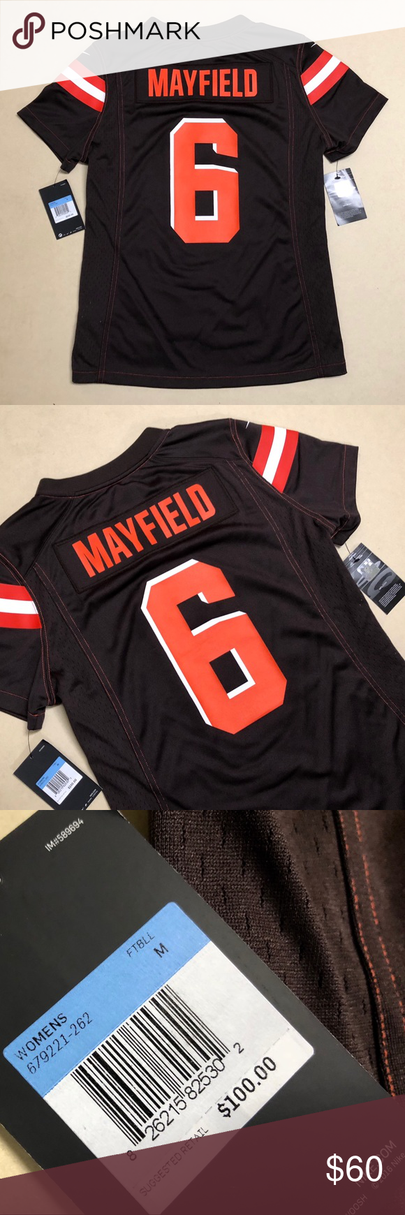 big sale 0b237 1ac1f Cleveland Browns - NEW Nike Baker Mayfield Jersey Cleveland ...