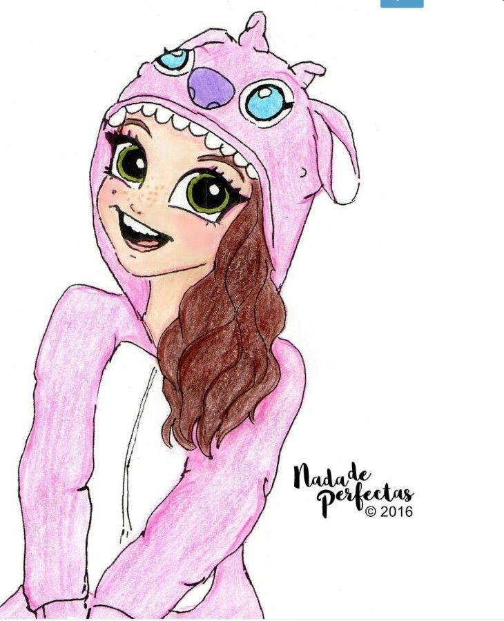 karolsevillaofc con su pijama #LiloyStitch   dibujos de los ...