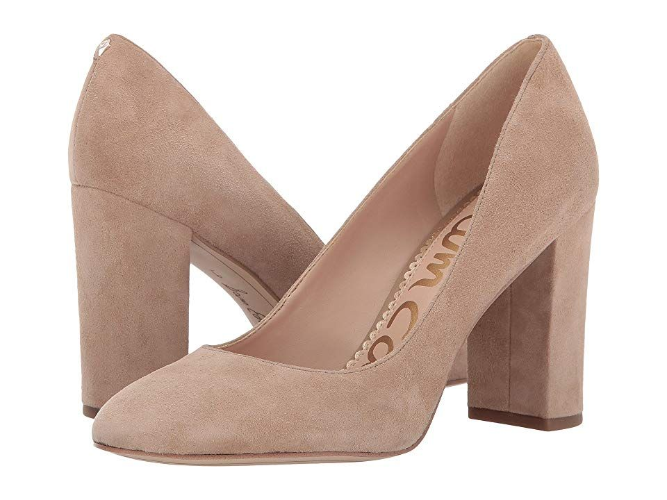bf108d45f24f Sam Edelman Stillson (Oatmeal Kid Suede Leather) Women's Shoes. Stop  traffic in the always eye-catching Stillson pump from Sam Edelman.