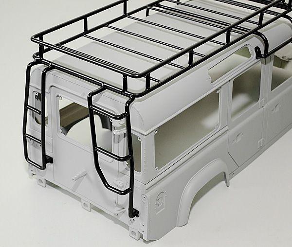 Adventure Land Rover Defender D110 Roof Rack | Accessorize ...