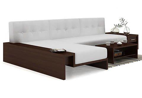 Sofa Pillows Cortez L shaped Wooden Sofa White Dimensions Inch L x