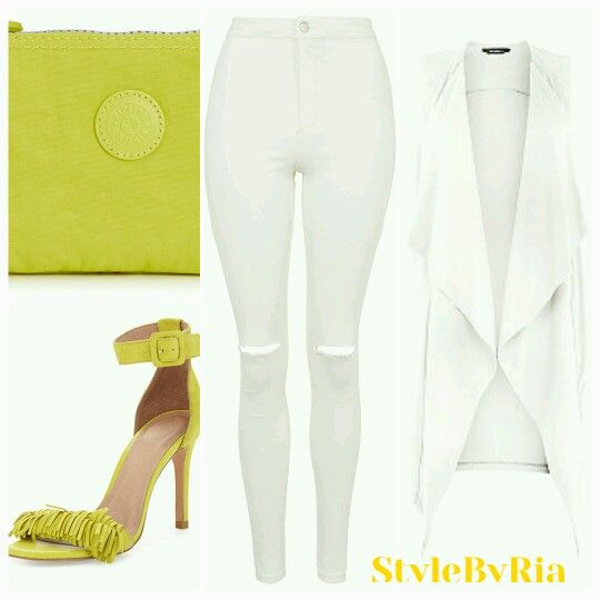 Look good in white