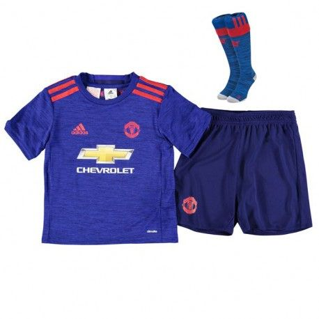 new style c7d64 3c22f 17.99 Manchester United Kids Away Kit 2016 2017 | Footy ...