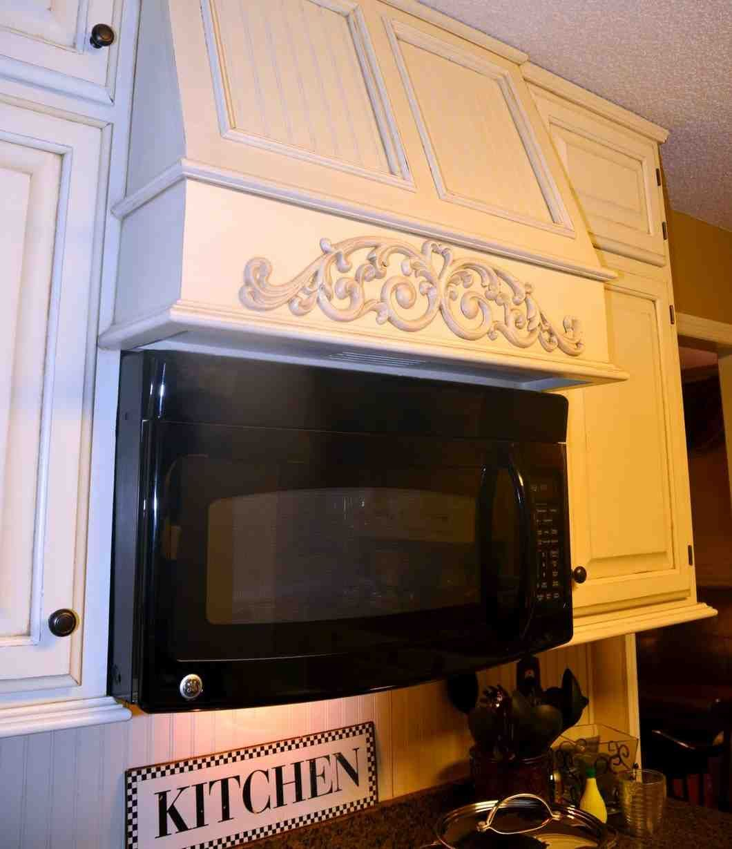 Under Cabinet Microwave With Exhaust Fan
