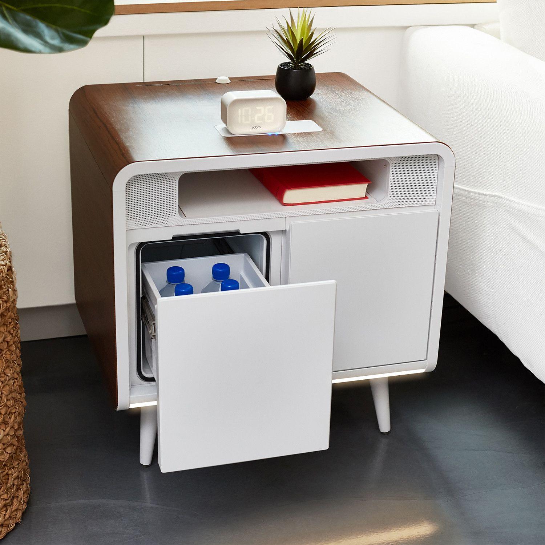 Sobro Side Table Sleek Storage Smart Storage Furniture [ 1500 x 1500 Pixel ]