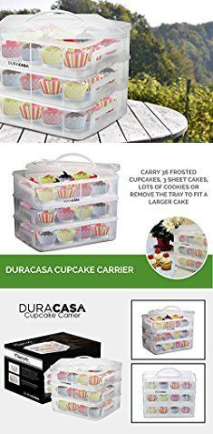36 Cupcake Carrier Gorgeous Cupcake Carrier Walmartduracasa Cupcake Carrier  Cupcake Holder Decorating Inspiration