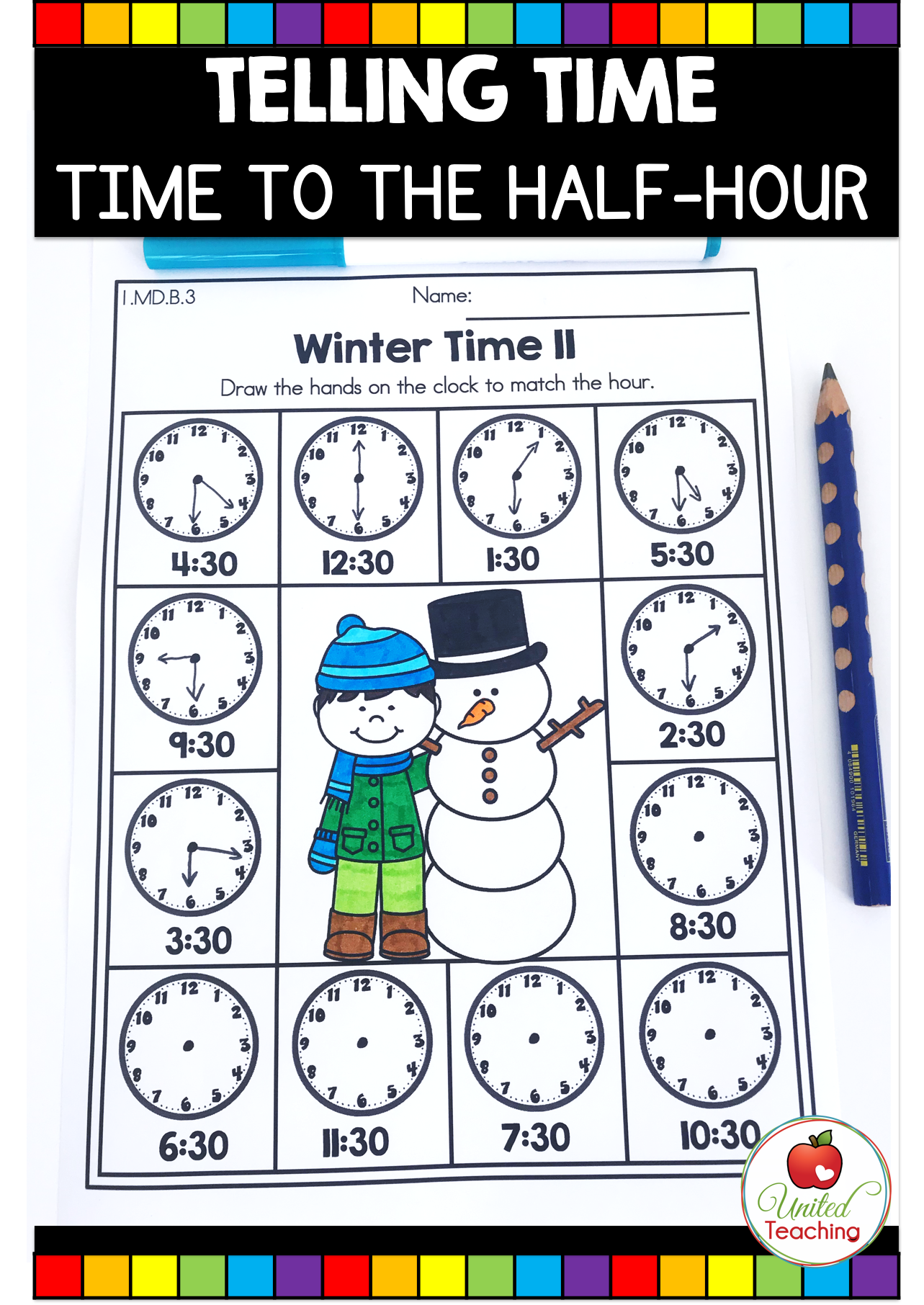 Winter Math And Literacy 1st Grade No Prep Activities