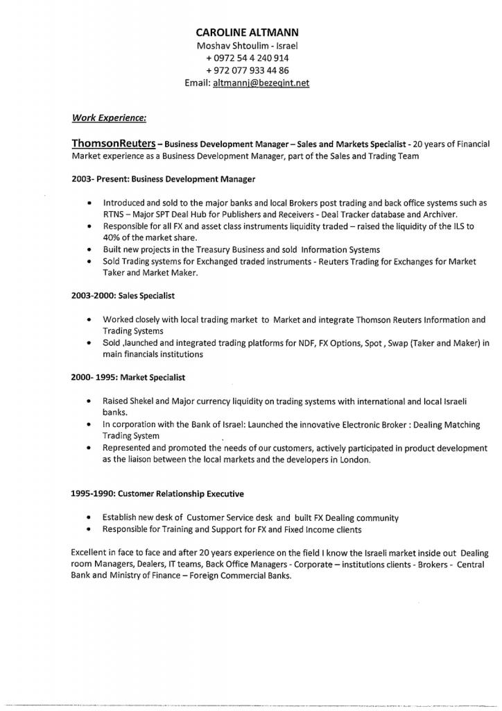 business development skills resume ~ Inspirenow