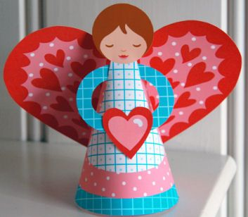 Adult craft for valentine art projects religious st for Christian crafts for adults
