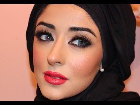 adriana lima artist of makeup tutorial ماكياج العربي