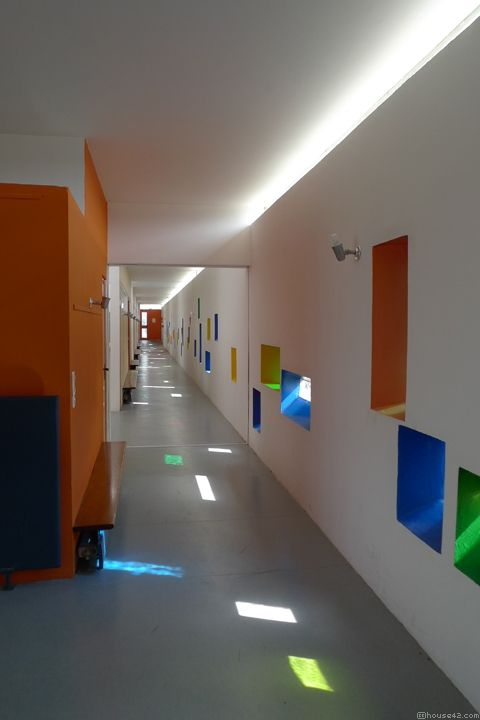 Unité dHabitation Nursery School - Firminy
