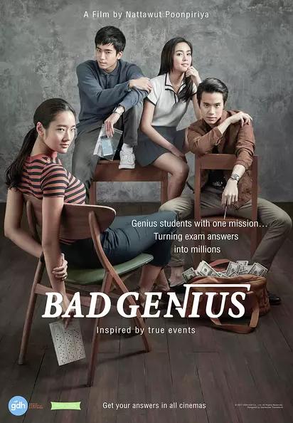 Pin by Wen-Ling Liu on Movie list | Bad genius movie, Bad genius ...