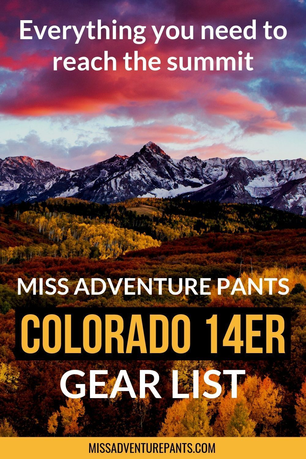 FREE Colorado 14er Starter Kit -  The 14ers are some of Colorado's most exciting hiking trails, and many are suitable for fit begin - #14er #AppalachianTrail #colorado #ColoradoHiking #Free #HikingTrails #kit #PacificCrestTrail #starter #Wanderlust