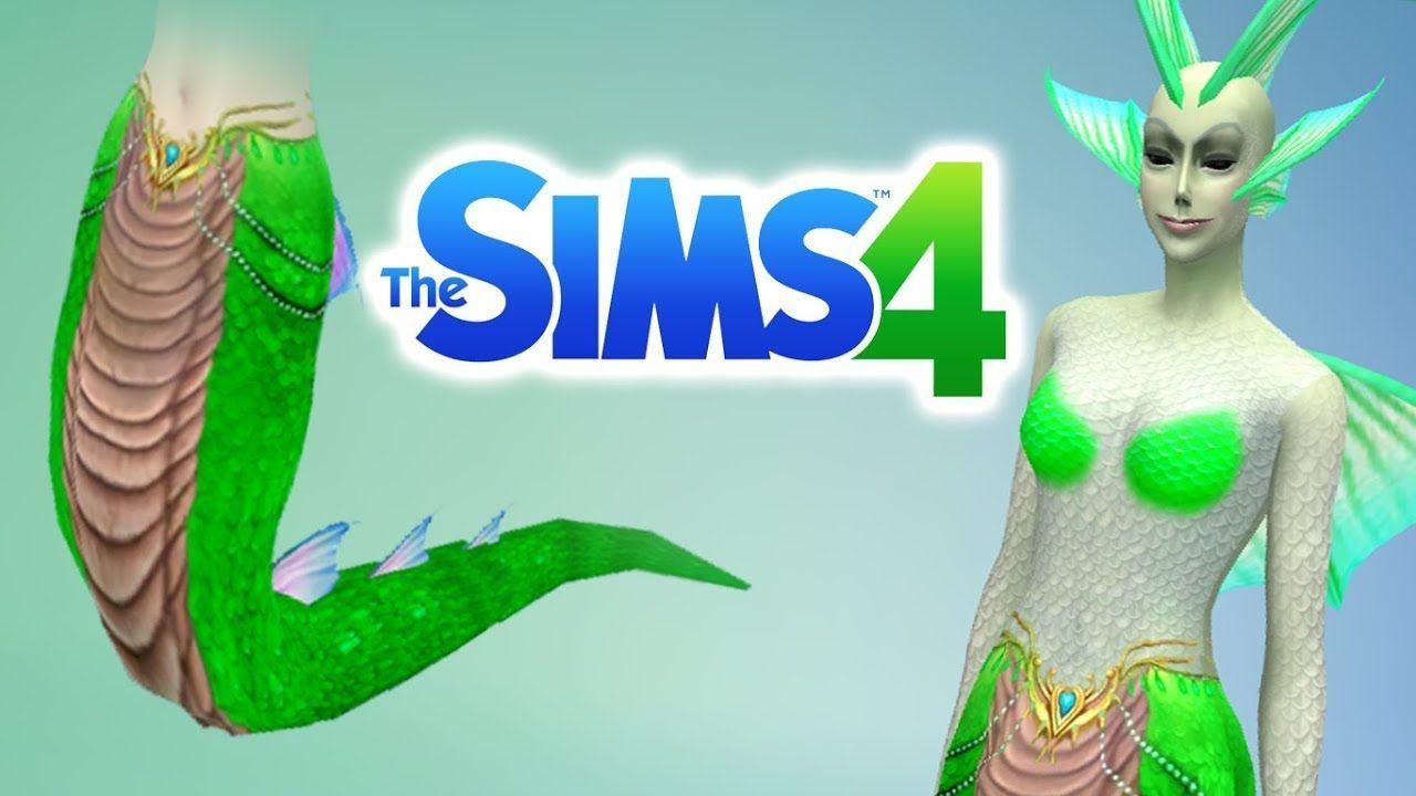 The Sims 4 Snake Thigh Tatoo: Naga Snake Tail - The Sims 4 Fantasy CC