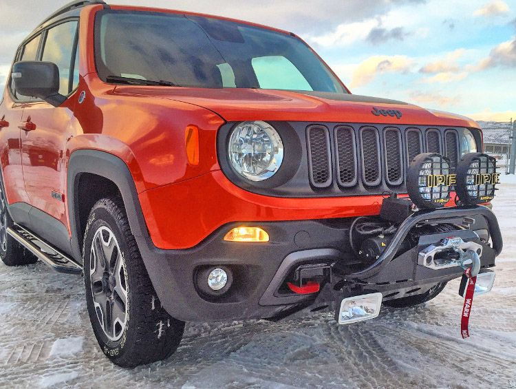 Jeep Renegade Winch Mount Jeep Renegade Jeep Renegade