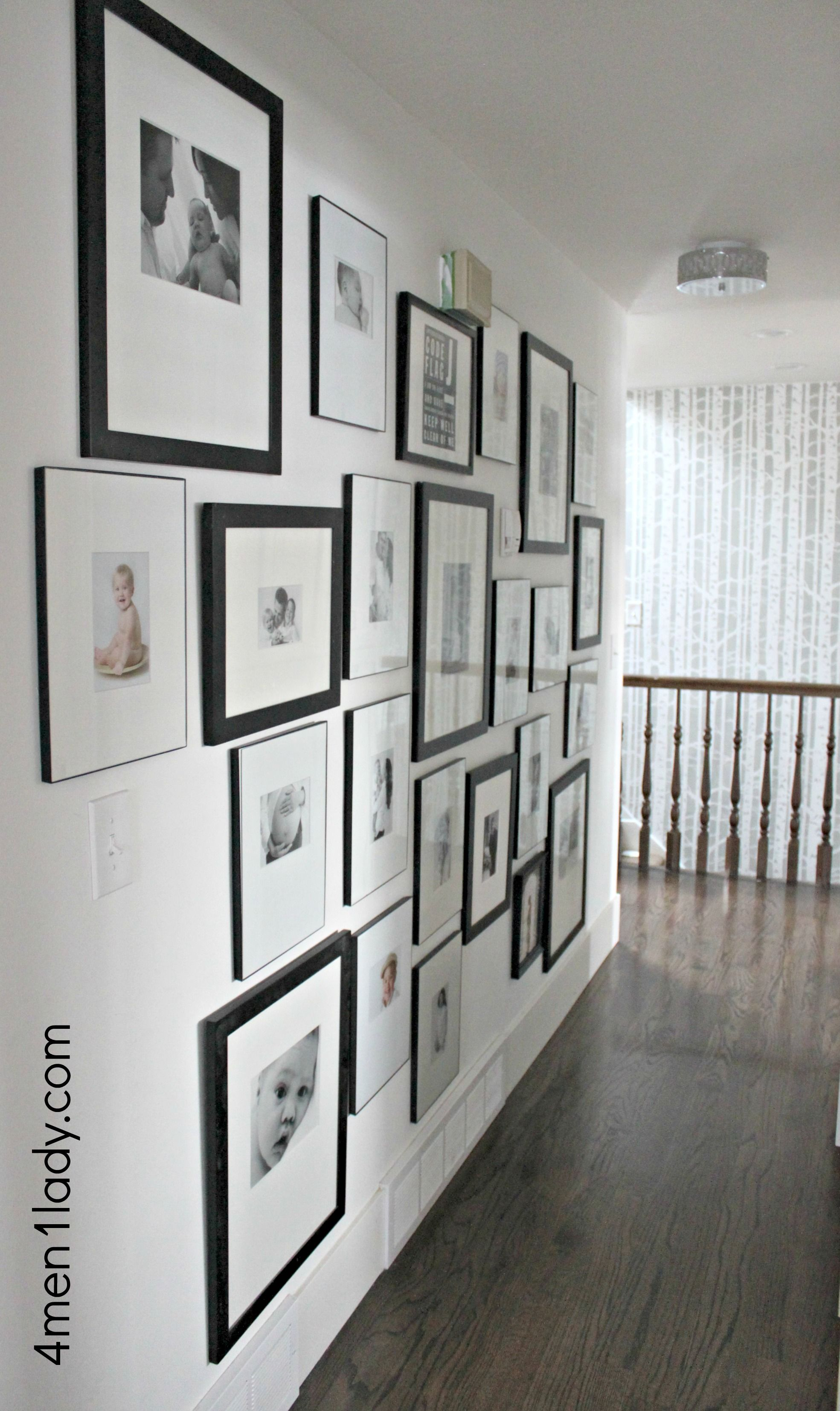 Tips for doing a gallery wall. 4men1lady.com | Home | Pinterest ...