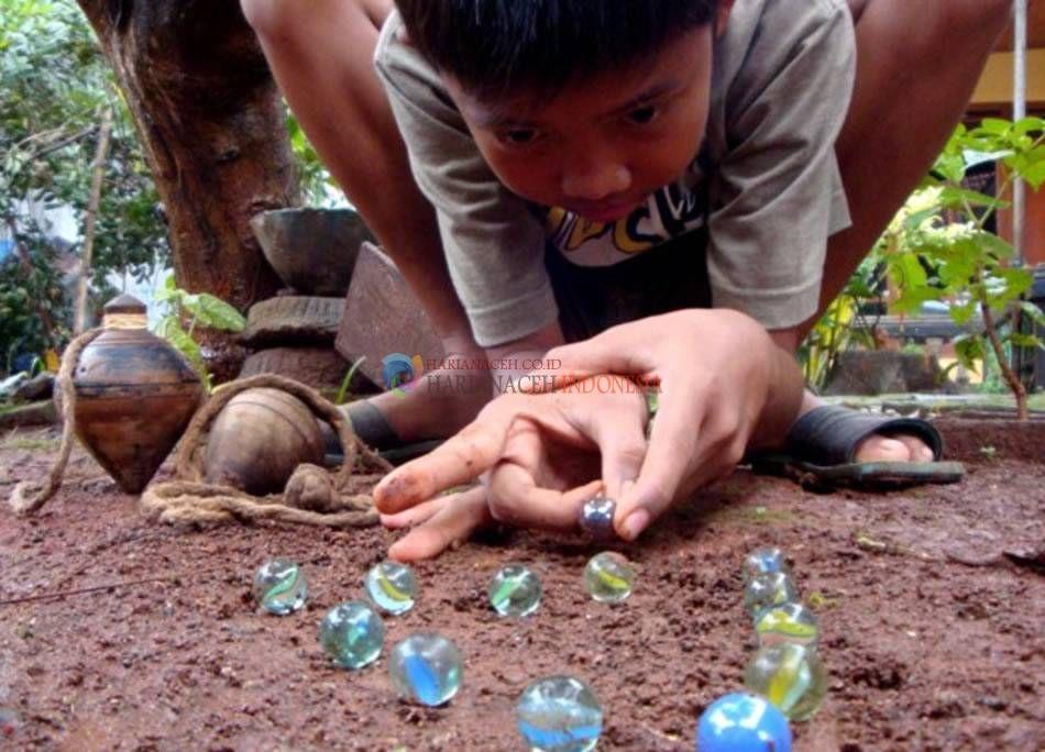 Harian Aceh Indonesia Harianaceh Co Id Kelereng Anak Kenangan Masa Kecil