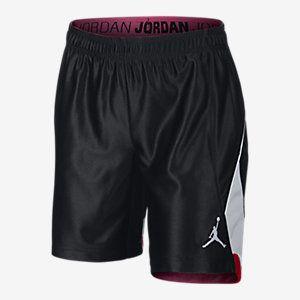 Jordan Color-Blocked Girls Basketball Shorts. Nike Store