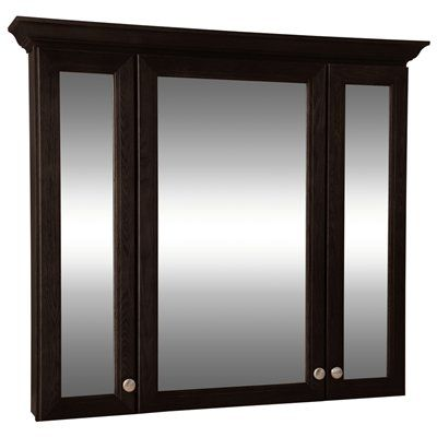 Style Selections Northrup 42-in Espresso Wall Cabinet ...