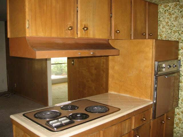 rustic 1960 s kitchen uglyhousephotos com tons of great reference here  i am loving this      rh   pinterest com
