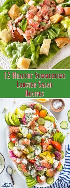 12 Healthy Summertime Lobster Salad Recipes