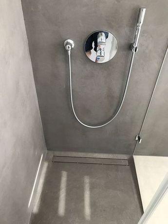 Carameo mineralischer Putz für fugenlose Bäder und Spachtelböden - wasserfeste farbe badezimmer
