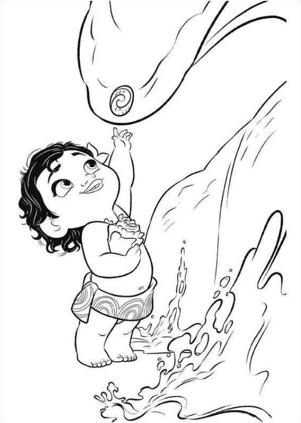 Moana Coloring Pages | malebog børn | Pinterest | Coloring pages ...