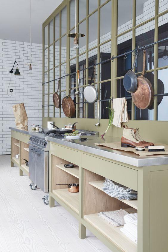 Plain English Marylebone Showroom | \'The Osea Kitchen\' by Plain ...