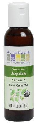 Aura Cacia Organic Skin Care Oil, Balancing Jojoba, 4 Fluid Ounce