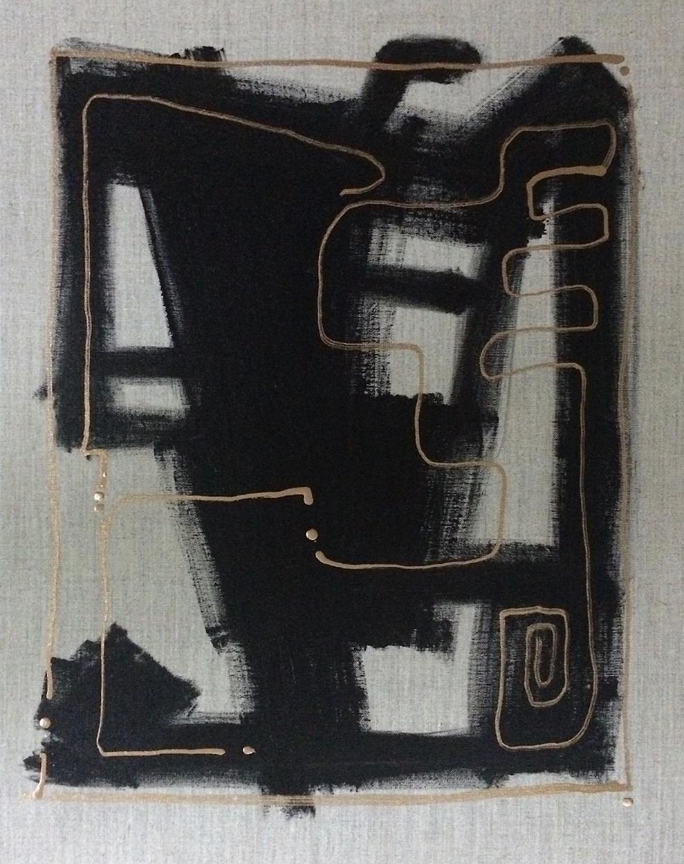 'ZiMBABWE' original abstract painting by Linnea Heide on Chairish.com