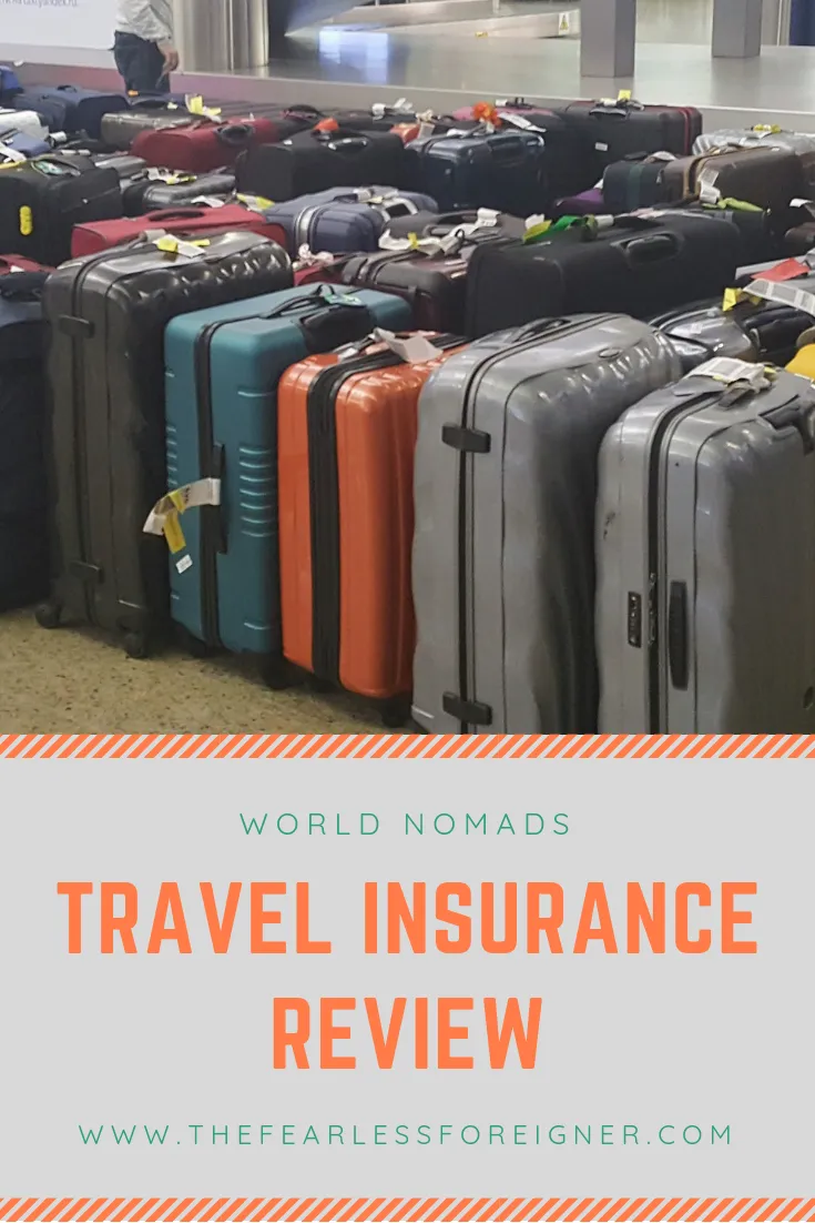 World Nomads Travel Insurance Review The Fearless Foreigner
