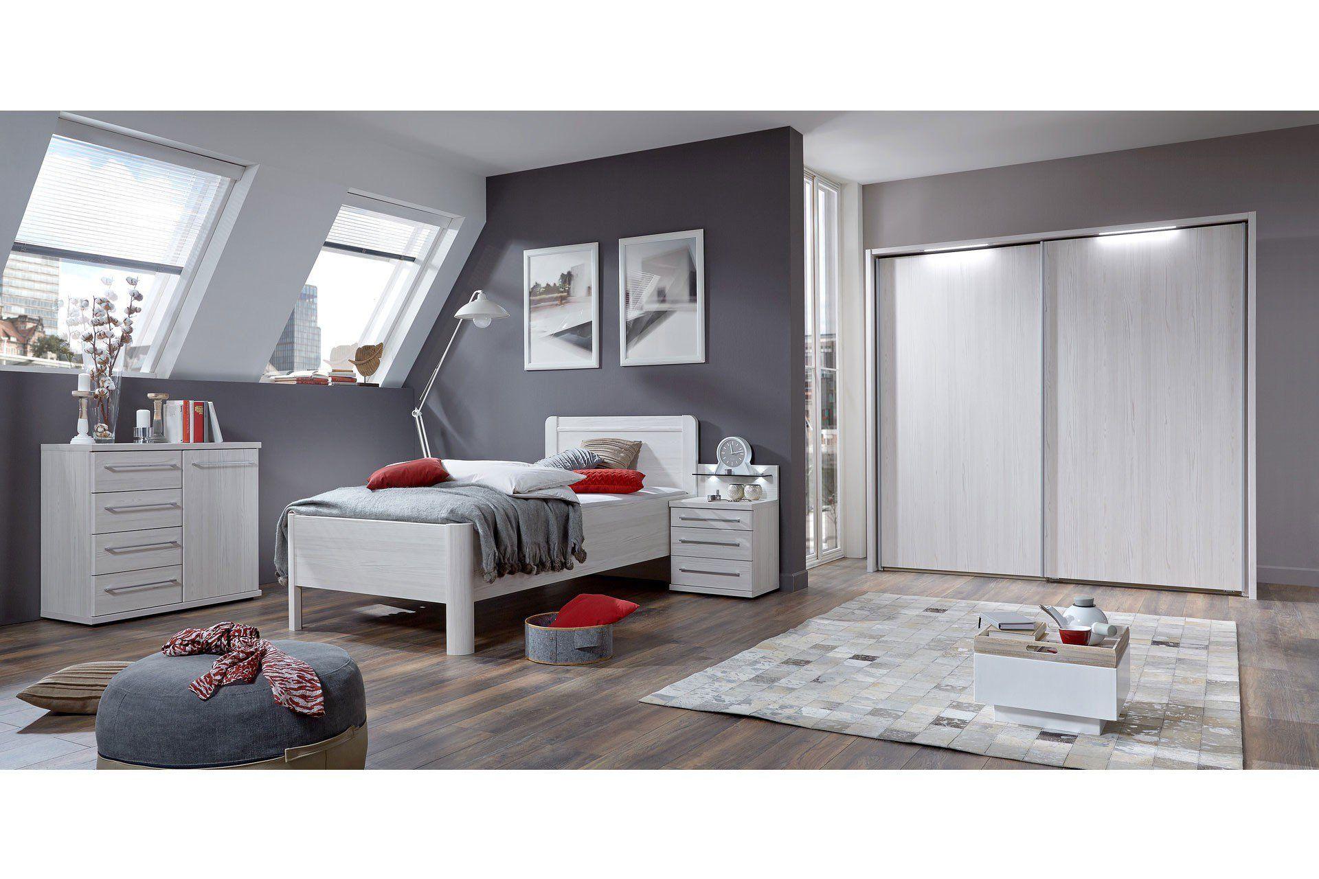 Hochglanz Schlafzimmer ~ Schlafzimmer komplett saragossa hochglanz schwarzweiss montana