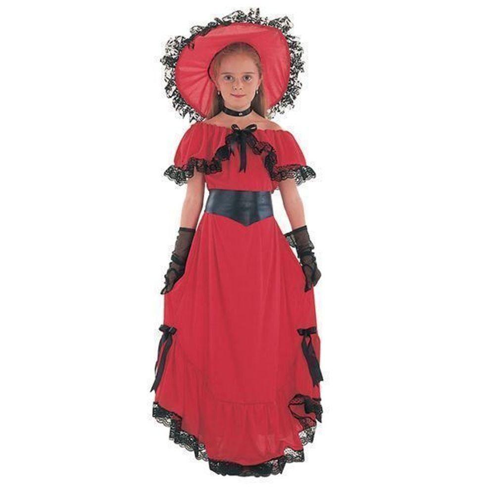 Scarlet O\'Hara Girls Book Week Victorian Childrens Fancy Dress ...