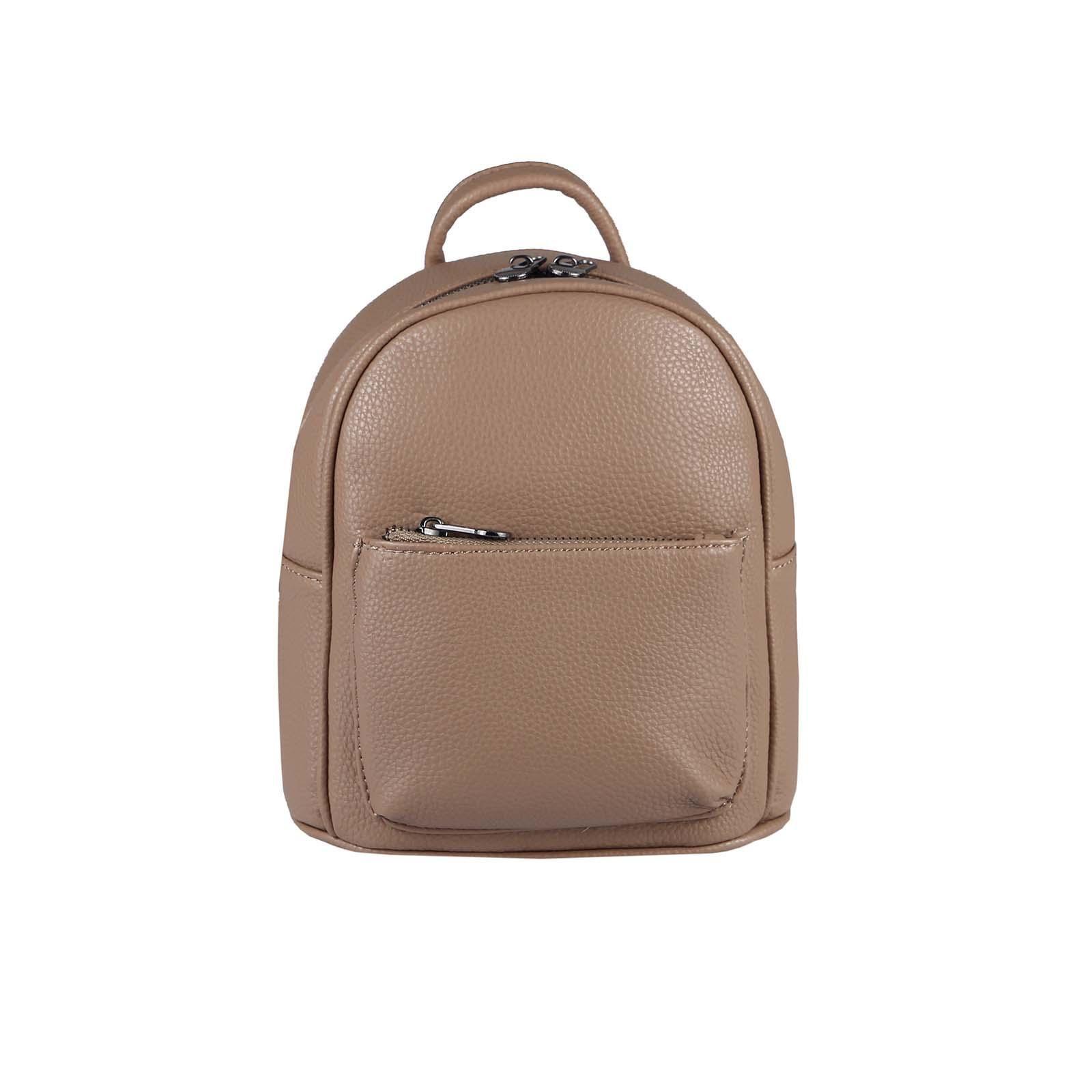 Damen Vintage Leder Rucksack Reisetasche Laptop