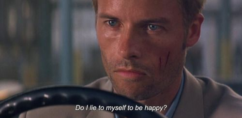Anamorphosi And Isolate Movie Quote Film Lie To Me Memento Essay