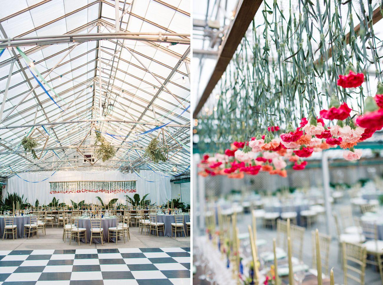 Bohemian pennsylvania greenhouse wedding christine