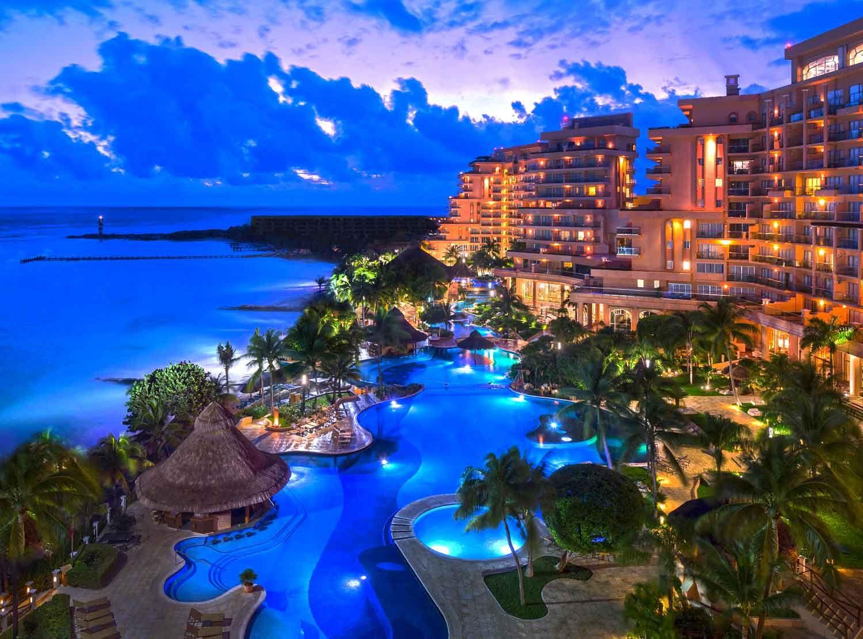 Grand Fiesta Americana C Beach Cancun Hotels One Day