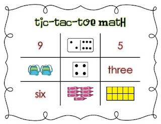 First Grade Garden: Back to School Math Centers