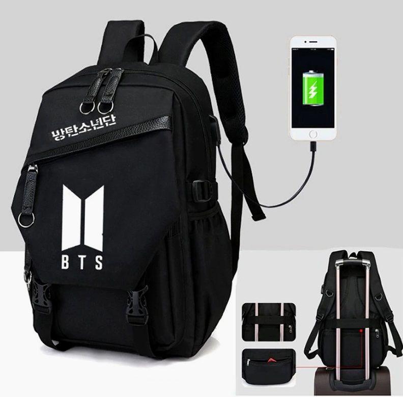 Pin by Elena Nebitno on Album bts in 2020 | Bts backpack, Bts bag, Laptop travel bag